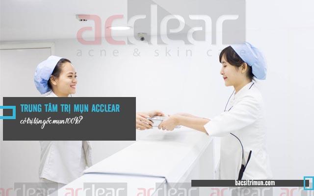 trung tâm trị mụn acclear