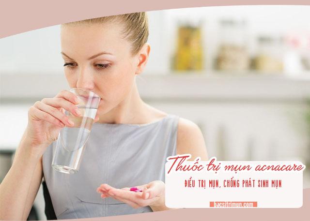 công dụng thuốc trị mụn acnacare