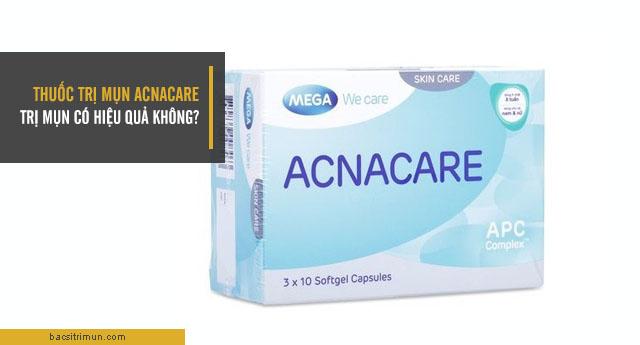 thuốc trị mụn Acnacare