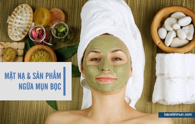 cách ngăn ngừa mụn bọc bằng mặt nạ chăm sóc da