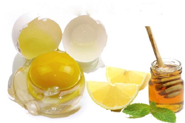 Cách trị mụn trứng cá bằng mật ong, trứng gà và chanh