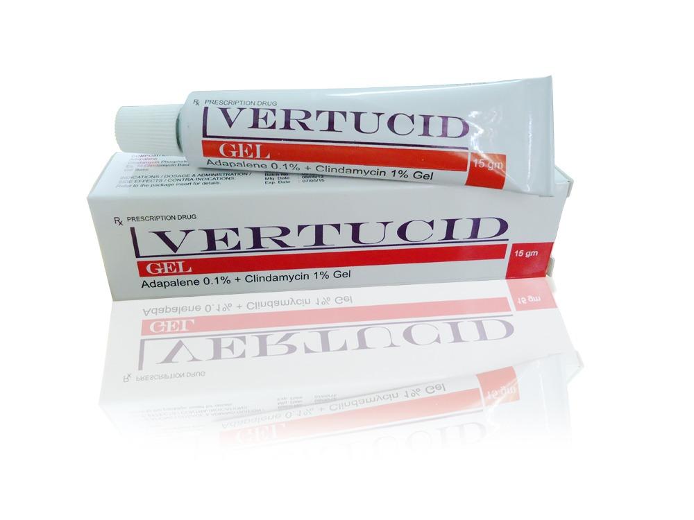 Vertucid là thuốc trị mụn cho đàn ông hiệu quả nhất