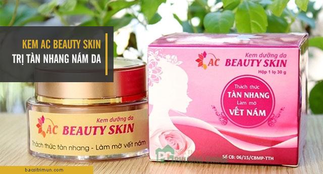 Kem AC Beauty Skin trị tàn nhang nám da