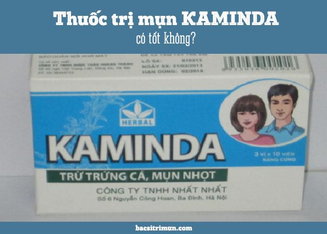 thuốc trị mụn Kaminda