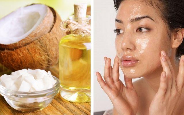 Phương pháp trị mụn ẩn bằng dầu dừa