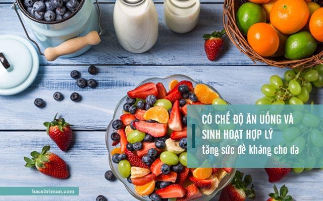 cách ngăn ngừa mụn hiệu quả qua chế độ ăn uống