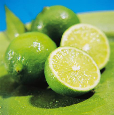 Limes --- Image by © Garcia/photocuisine/Corbis