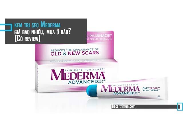 kem trị sẹo Mederma