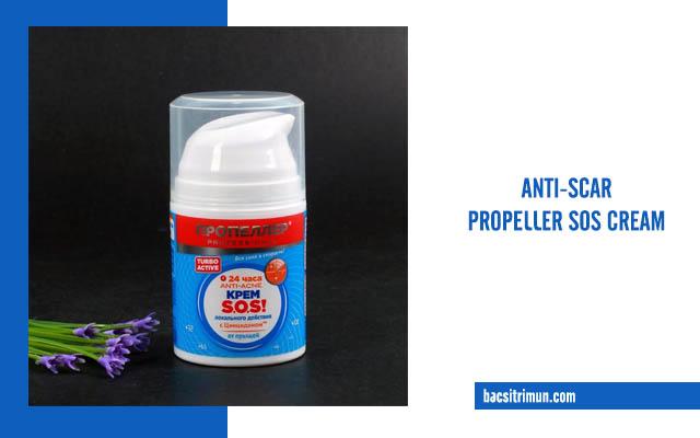 kem trị sẹo của nga Anti-scar Propeller SOS Cream Russia