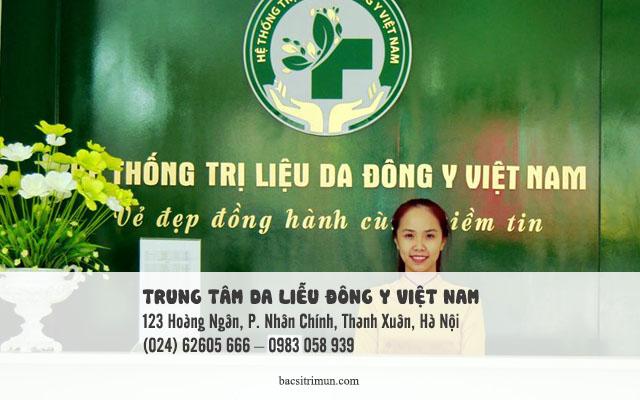địa chỉ trị sẹo rỗ ở Hà Nội là trung tâm da liễu đông y việt nam