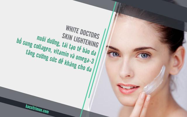 công dụng kem làm trắng da White Doctors Skin Lightening