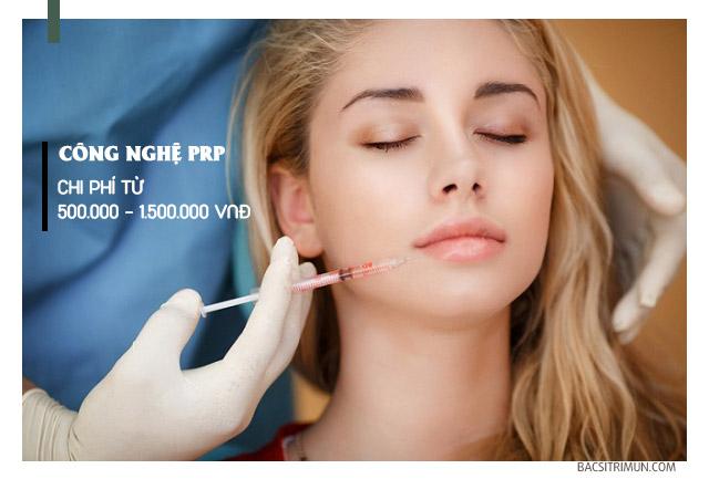 chi phí trị sẹo lõm bằng phương pháp PRP