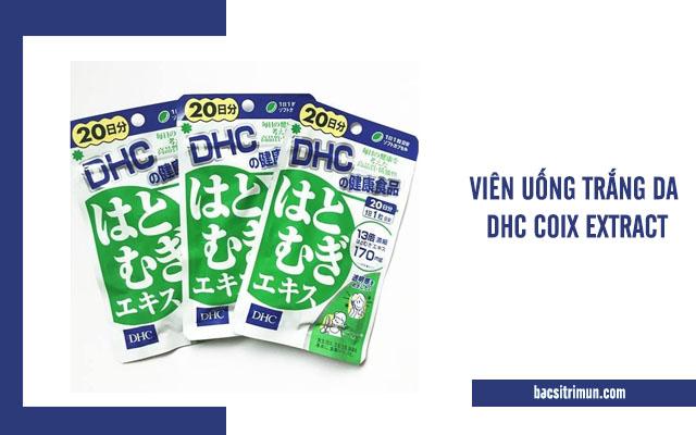 viên uống trắng da DHC Coix Extract