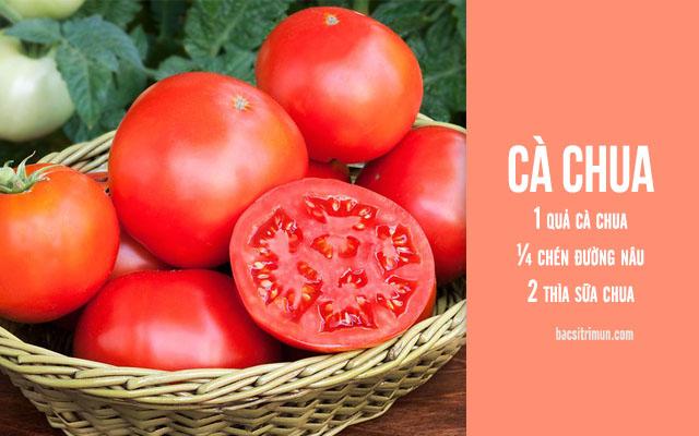Cách tẩy tế bào chết đơn giản bằng cà chua
