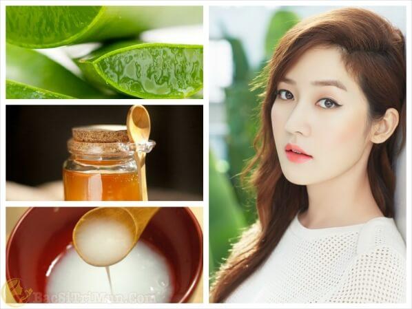 Cách chăm sóc da mặt hiệu quả bằng nha đam, mật ong và nước vo gạo