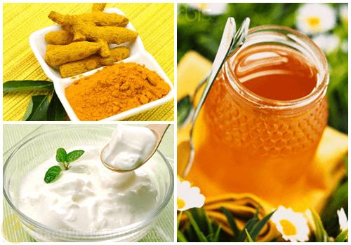 Cách chăm sóc da mặt hiệu quả từ bột nghệ, sữa chua và mật ong
