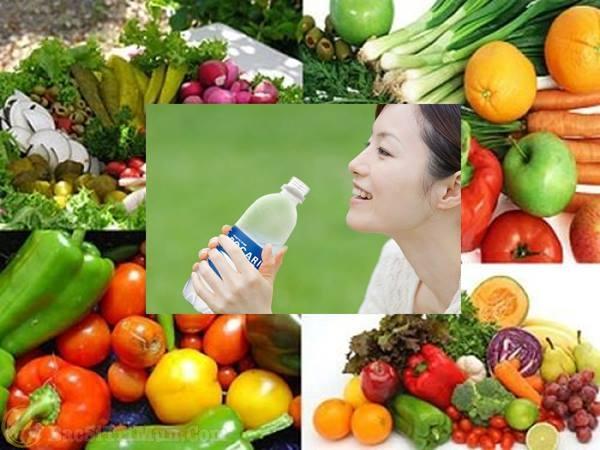 một số loại thức ăn giúp cho làn da khỏe mạnh