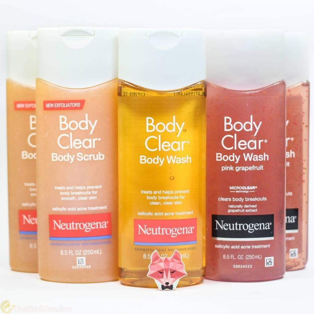 sữa tắm Neutrogenar Body Clear