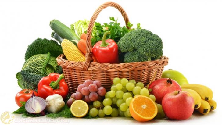 Ăn nhiều trái cây bổ sung thêm vitamin cho làn da tươi trẻ