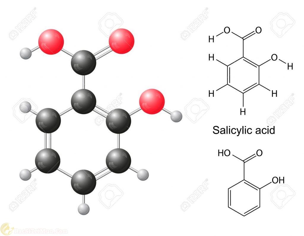 Axit salicylic - Thành phần trong sữa rửa mặt