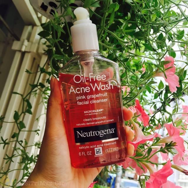 Sữa rửa mặt Neutrogena Oil Free Acne Face Wash