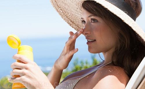 Bảo vệ da dưới ánh nắng mặt trời
