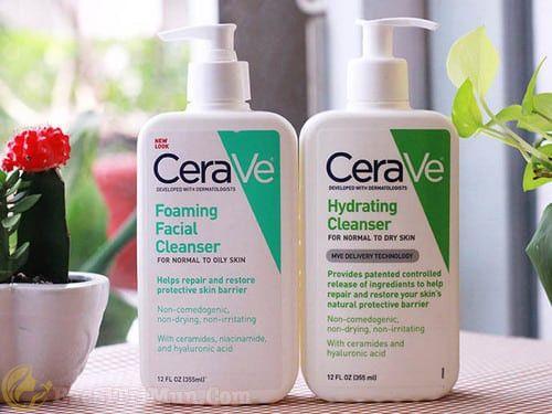 Sữa rửa mặt Cerave Foaming Facial Cleanser