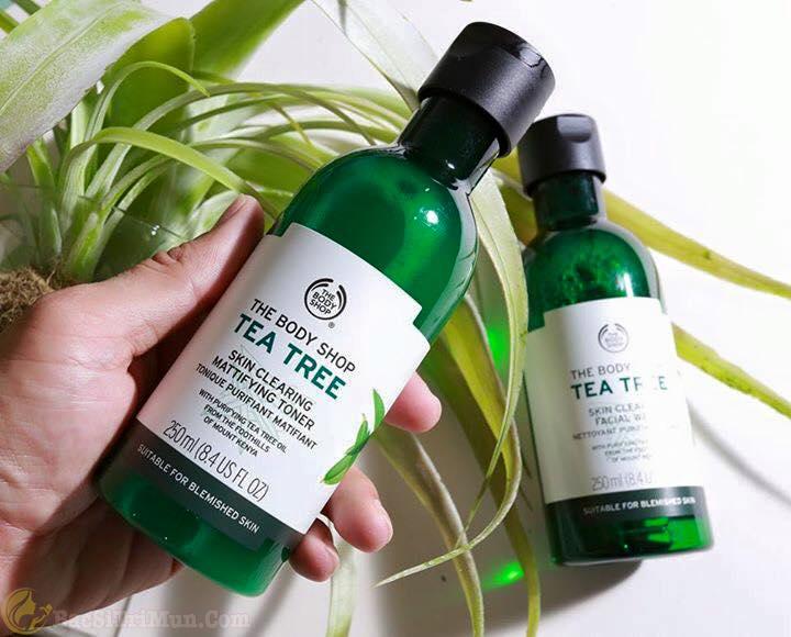 Sữa rửa mặt Tea Tree Skin Clearing Facial Wash