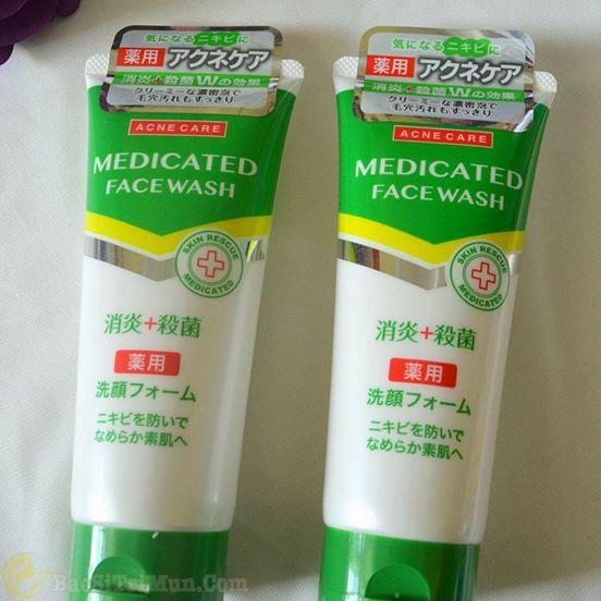 Sữa rửa mặt trị mụn Kumano Nhật Bản