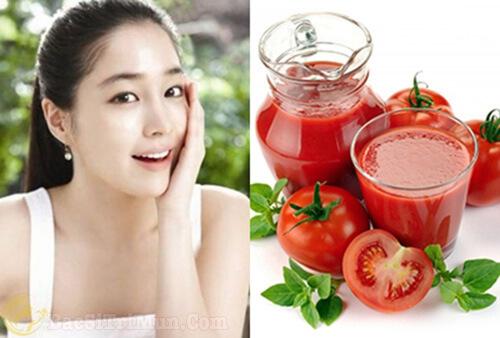 Cách trị mụn hiệu quả nhanh nhất từ cà chua