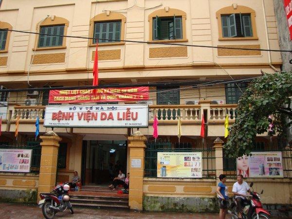 Trị sẹo rỗ tại bệnh viện Da Liễu Hà Nội