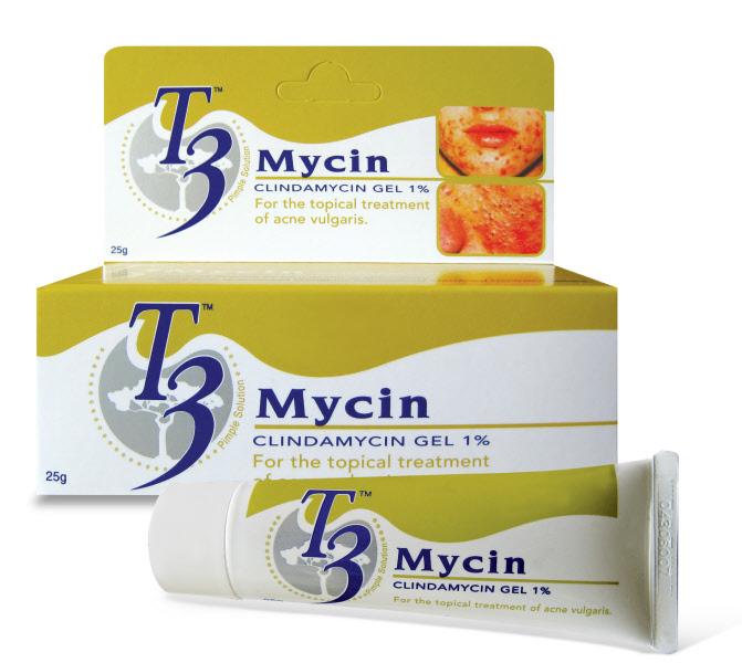 Kem trị mụn trứng cá T3 Mycin