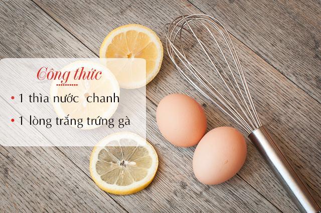 Mặt nạ tự nhiên giúp da trắng hồng, sạch nám tàn nhang từ chanh và trứng gà