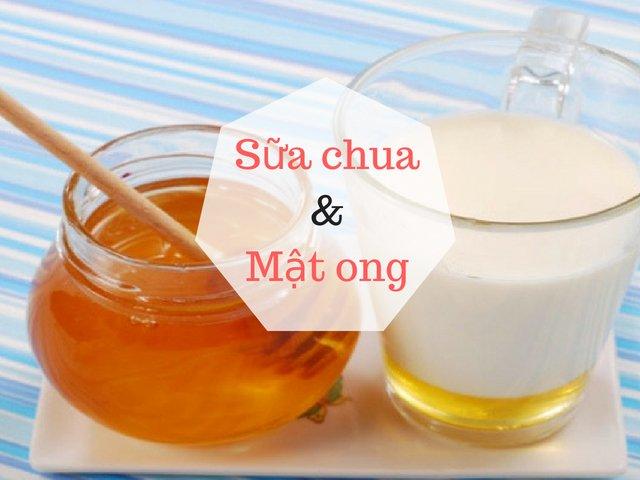 Cách làm mặt nạ tự nhiên tại nhà từ mật ong và sữa chua