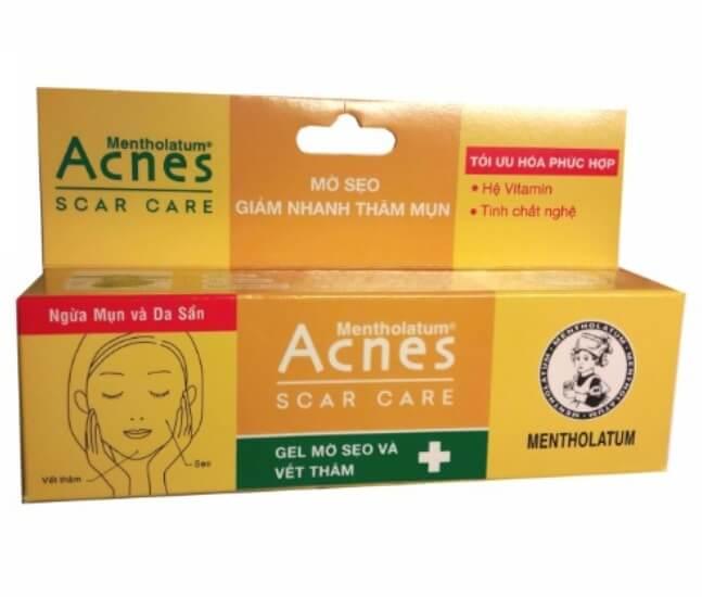 Kem thuốc trị thâm mụn Acnes Scar Care