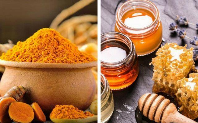 Nghệ mật ong trị mụn bọc hiệu quả