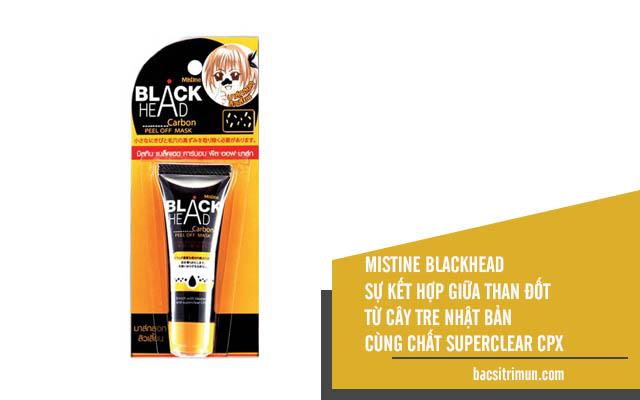 Lột mụn đầu đen Mistine Blackhead