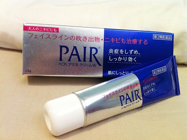 Pair là kem trị mụn hiệu quả cho da dầu xuất xứ từ Nhật Bản