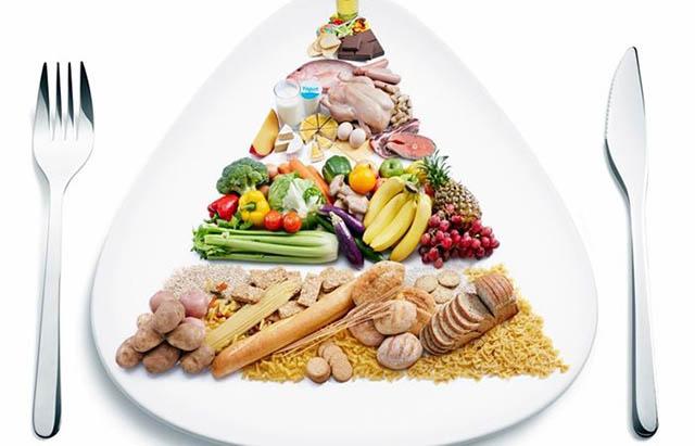 Thực đơn ăn uống cho người bị mụn cần có đủ 4 nhóm chất
