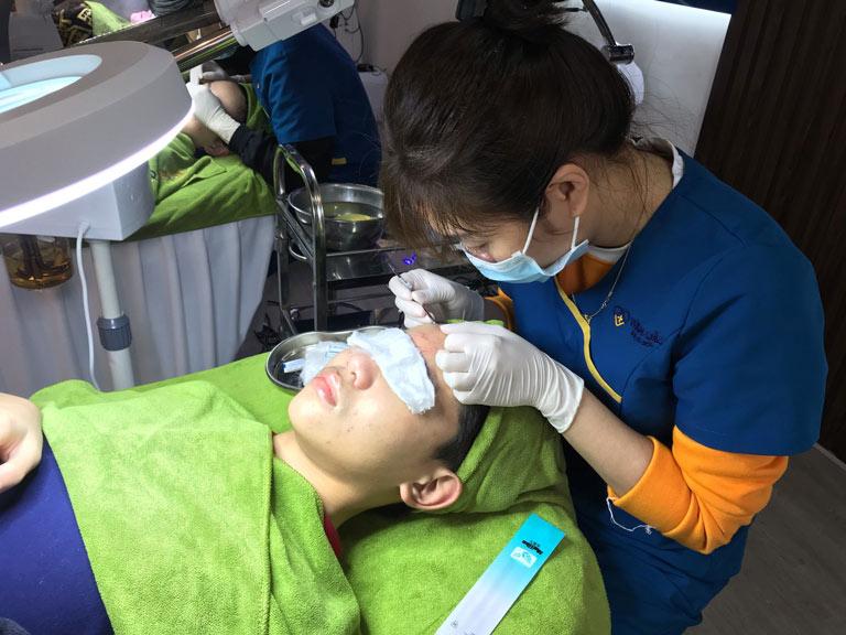 Dịch vụ chăm sóc, trị liệu da tại Trung tâm Da liễu Đông y Việt Nam luôn được khách hàng đánh giá cao