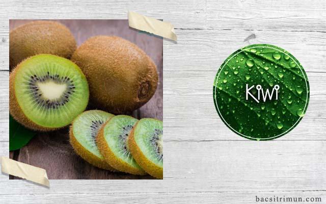 cách trị mụn tại nhà bằng kiwi
