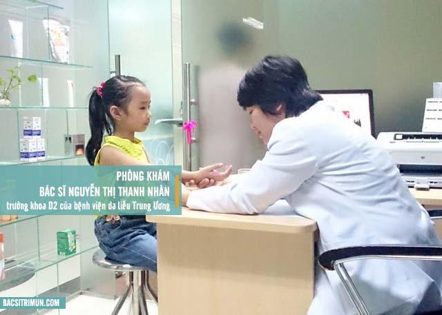 phòng khám, địa chỉ trị mụn uy tín ở Hà Nội