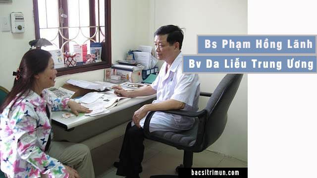 Bác sĩ Da Liễu hà nội Phạm Hồng Lãnh