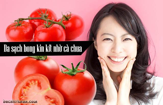 Làm sao để giảm nhờn trên da mặt bằng cà chua