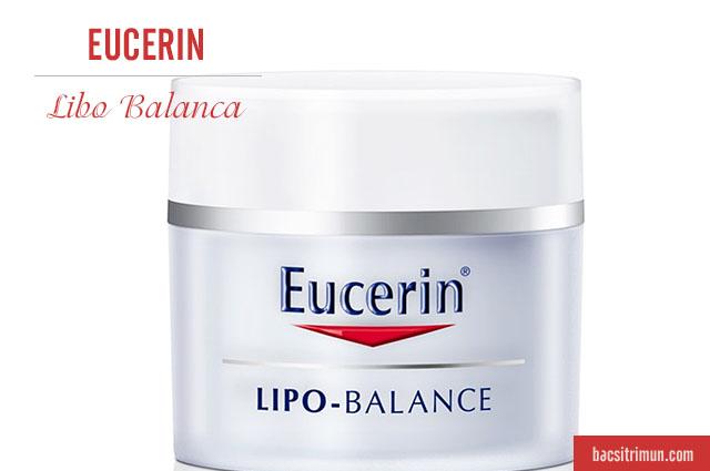 review kem dưỡng ẩm cho da khô Eucerin Lipo Balance