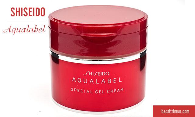 Kem dưỡng ẩm dành cho da khôShiseido aqualabel moisture cream