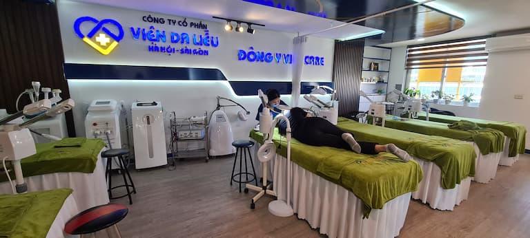 Dịch vụ chăm sóc da chuyên sâu tại Viện da liễu Hà Nội - Sài Gòn