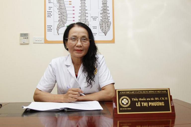 Bác sĩ Lê Thị Phương đánh giá cao hiệu quả phương pháp trị sẹo bằng công nghệ cao của Viện Da liễu Hà Nội - Sài Gòn