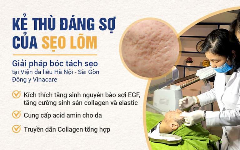 Kẻ thù đáng sợ của sẹo - Giải pháp bóc tách chân sẹo an toàn, hiệu quả tại Viện Da liễu Hà Nội - Sài Gòn