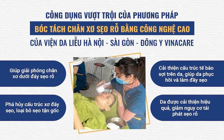 Giải pháp bóc tách đáy sẹo bằng công nghệ cao tại Viện Da liễu Hà Nội - Sài Gòn